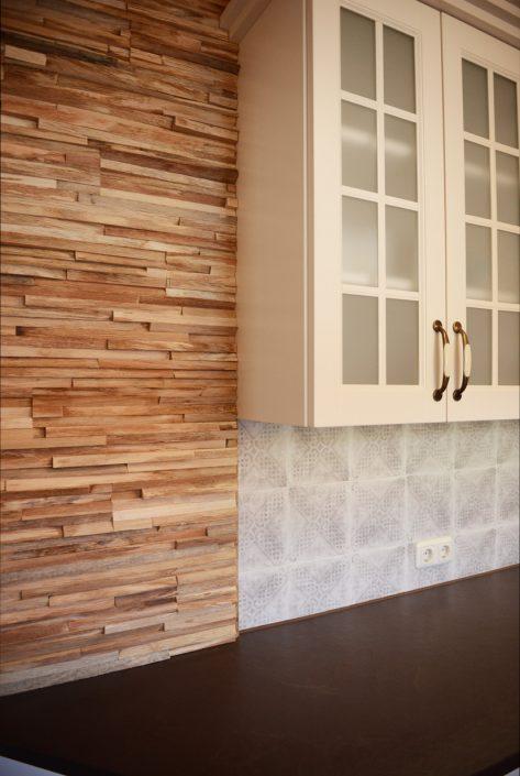 Massivholzküche