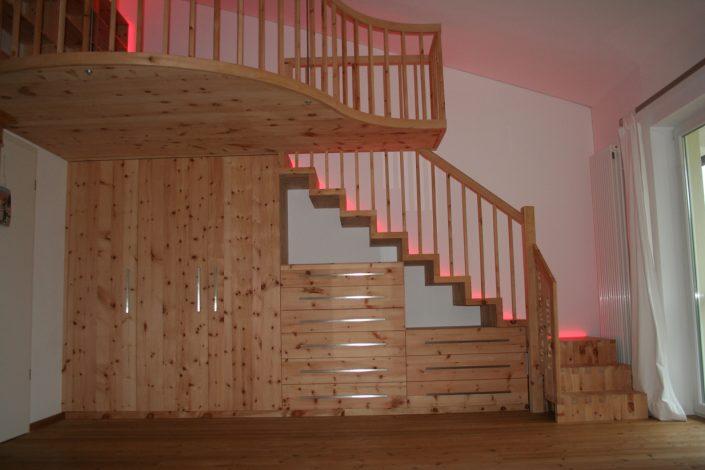Zirbelkiefer Treppe